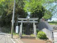 佐江戸杉山神社鳥居