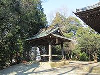 山田神社鐘楼